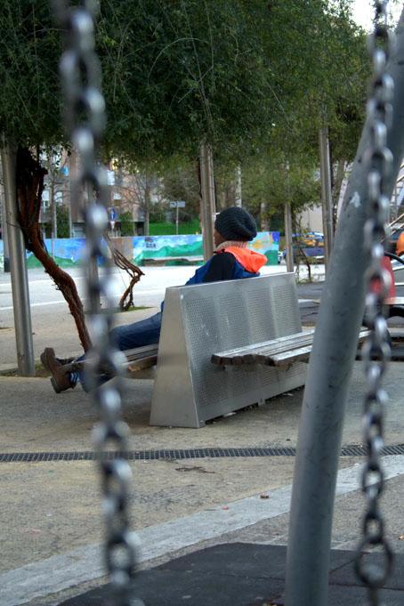 Ragazzo seduto - Catenacci